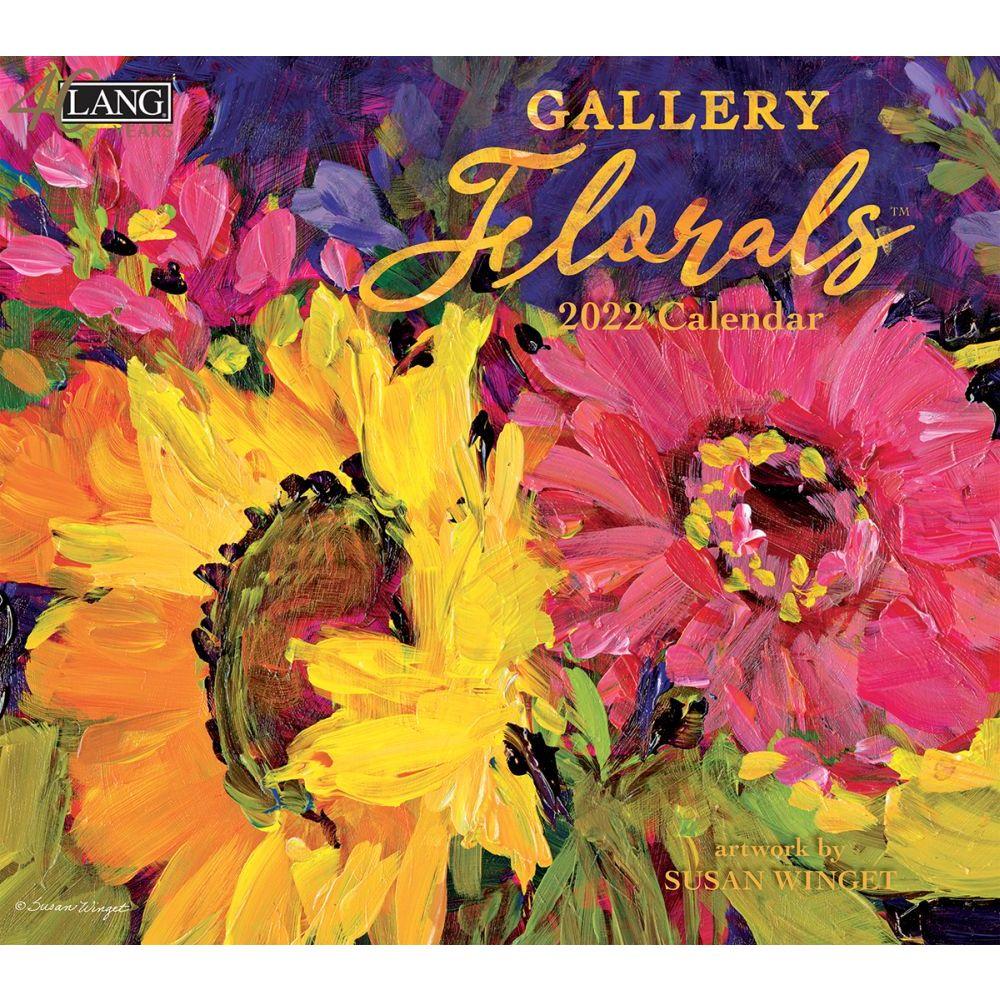 Gallery Florals 2022 Wall Calendar