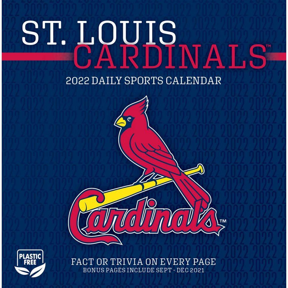 St. Louis Cardinals 2022 Desk Calendar