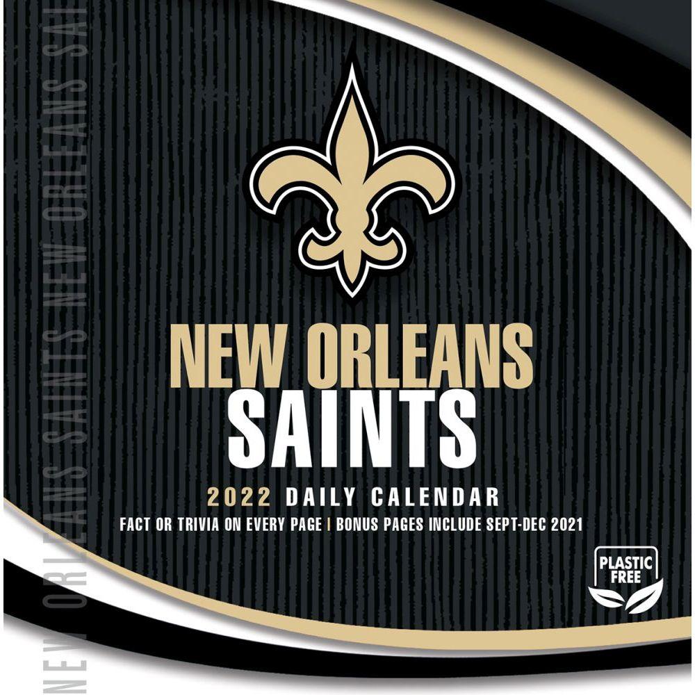 New Orleans Saints 2022 Desk Calendar
