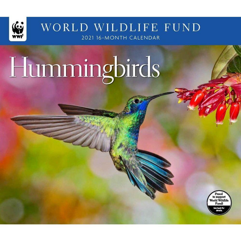 Hummingbirds WWF 2021 Wall Calendar