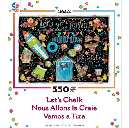 Best Lets Chalk 550pc Puzzle You Can Buy