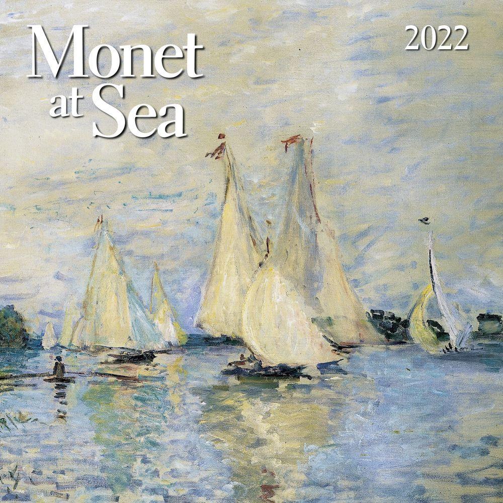 Monet at Sea 2022 Wall Calendar