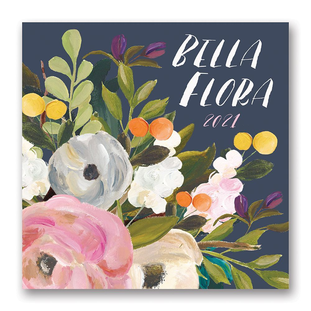 2021 Bella Flora Wall Calendar