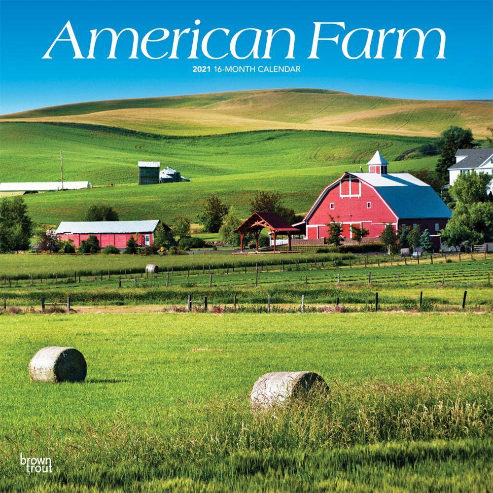2021 American Farm Wall Calendar