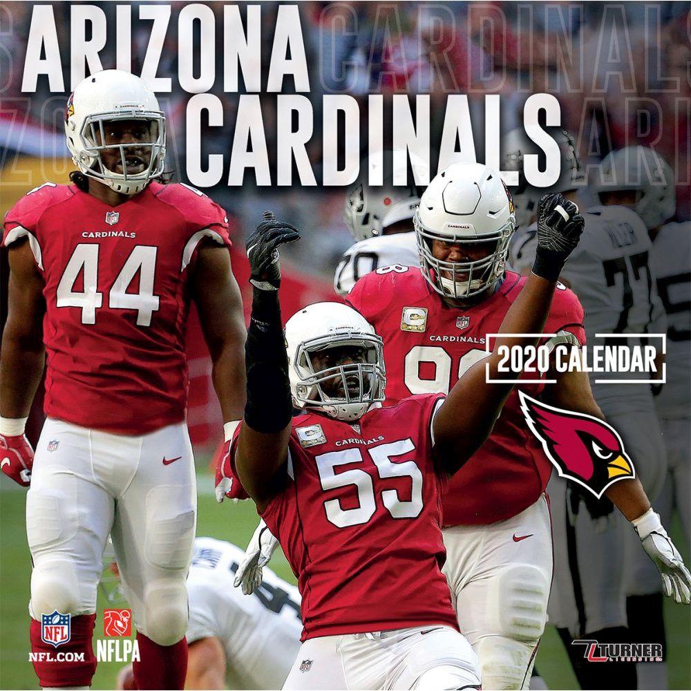 Arizona Cardinals 2021 Wall Calendar