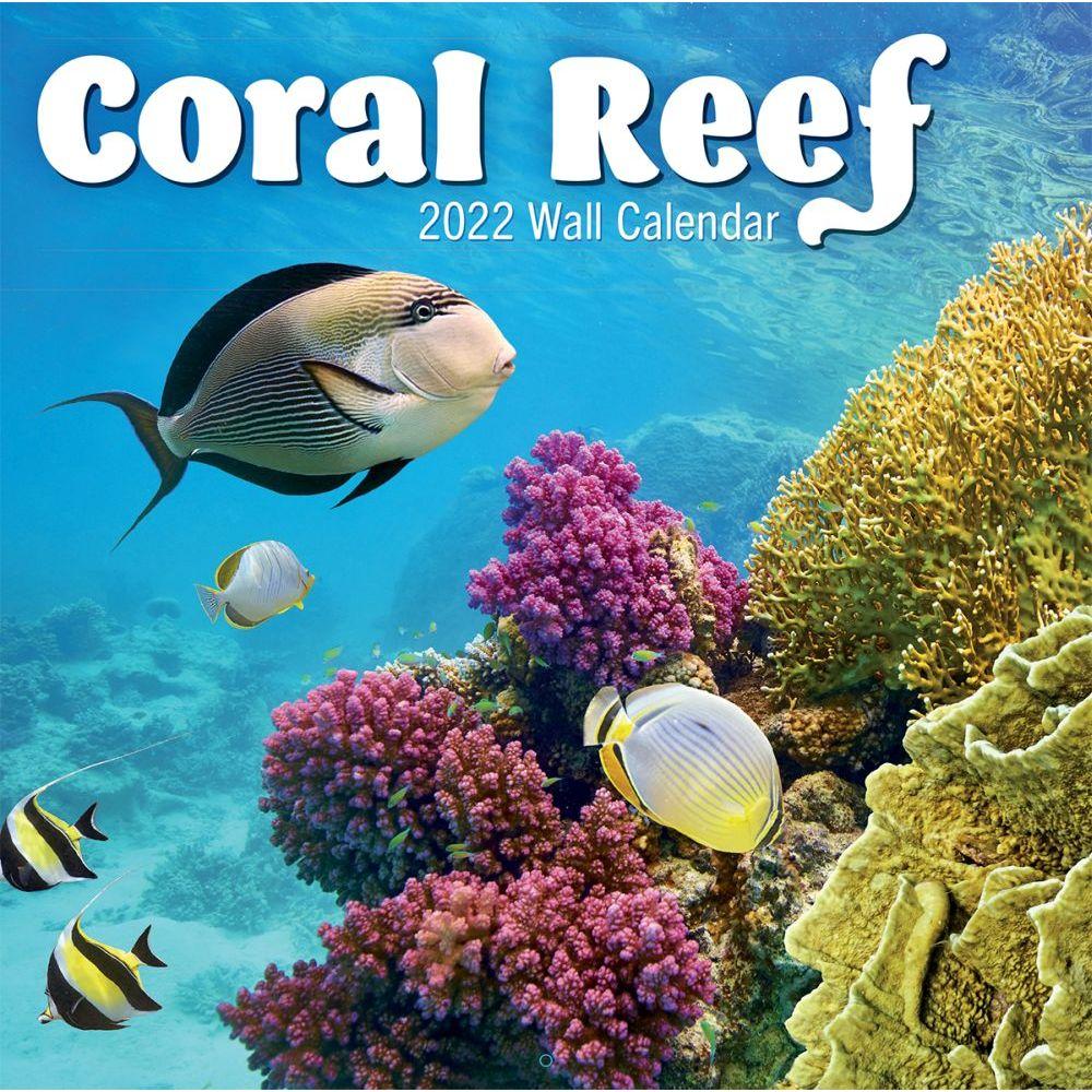 Coral Reef 2022 Wall Calendar