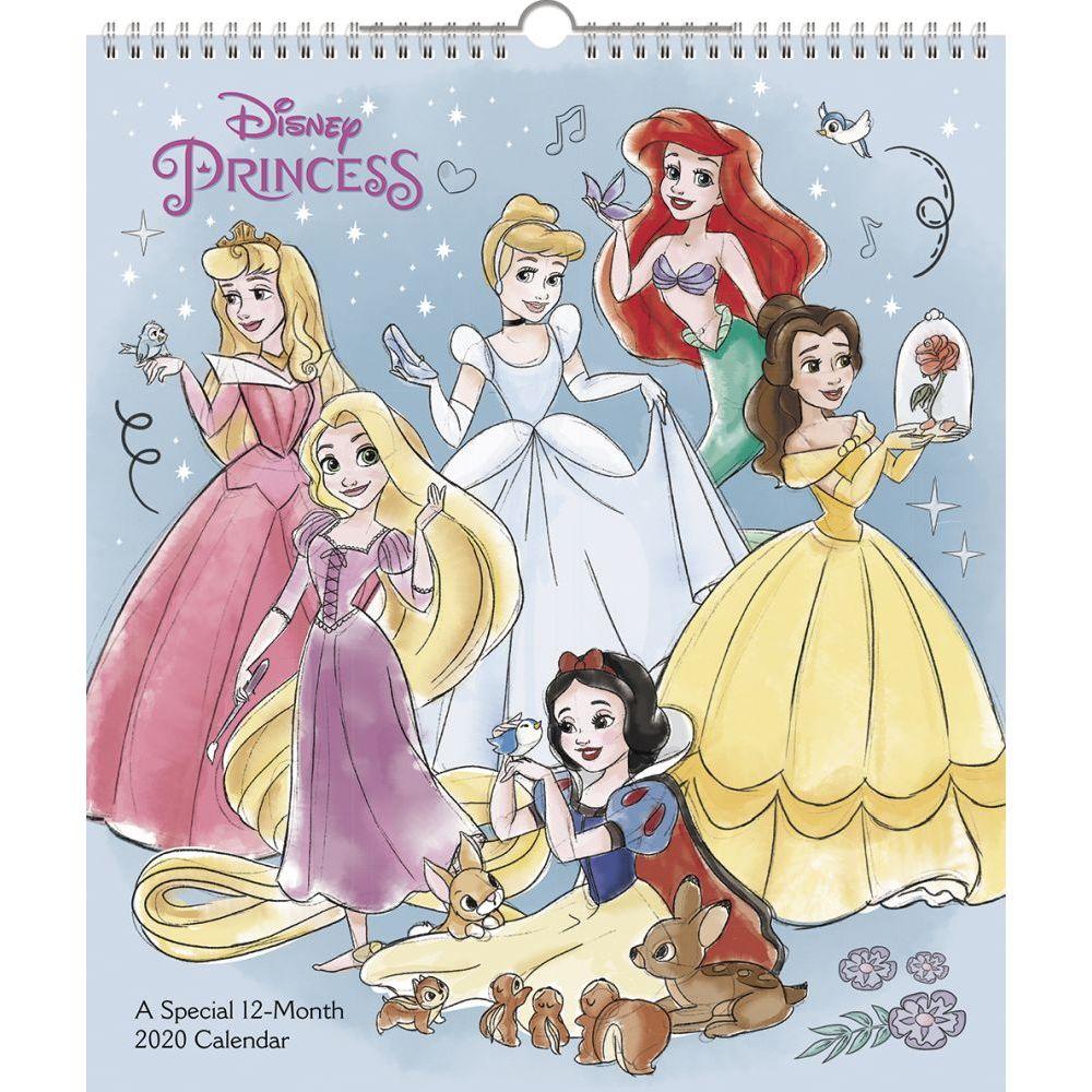 Disney Princess Special Poster 2021 Wall Calendar