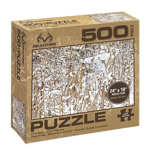 Best Realtree - Snowy Archer 500 Piece Puzzle You Can Buy