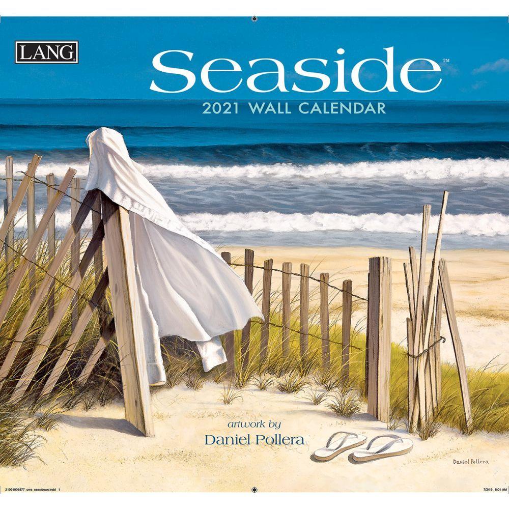 2021 Seaside Wall Calendar by Daniel Pollera