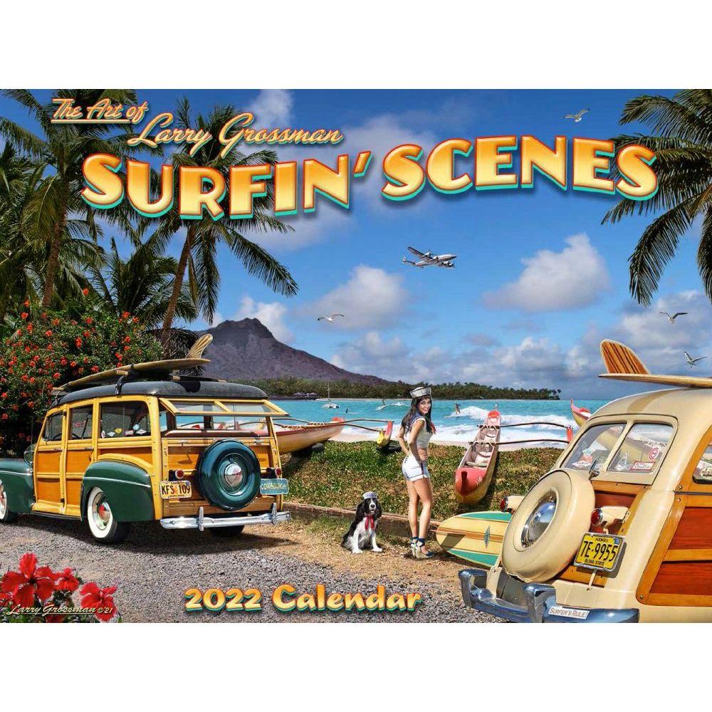 Surfin Scenes 2022 Wall Calendar