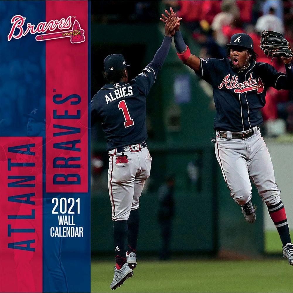 Atlanta Braves Wall Calendar