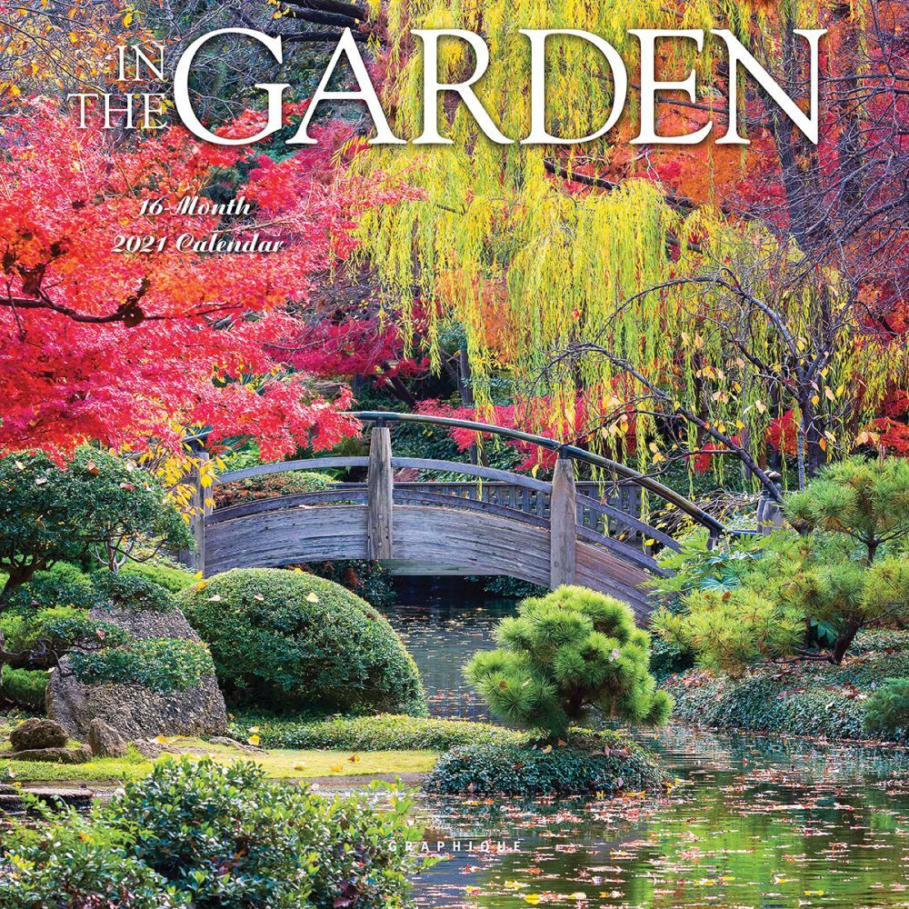 2021 Garden In the Garden Mini Wall Calendar