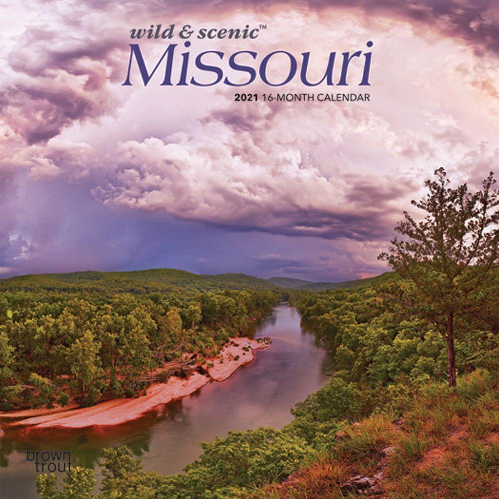 Missouri 2021 Mini Wall Calendar