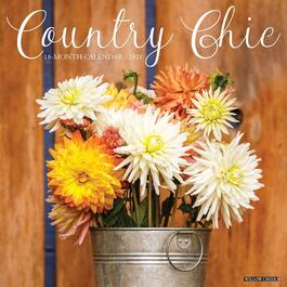 Country Chic Wall Calendar