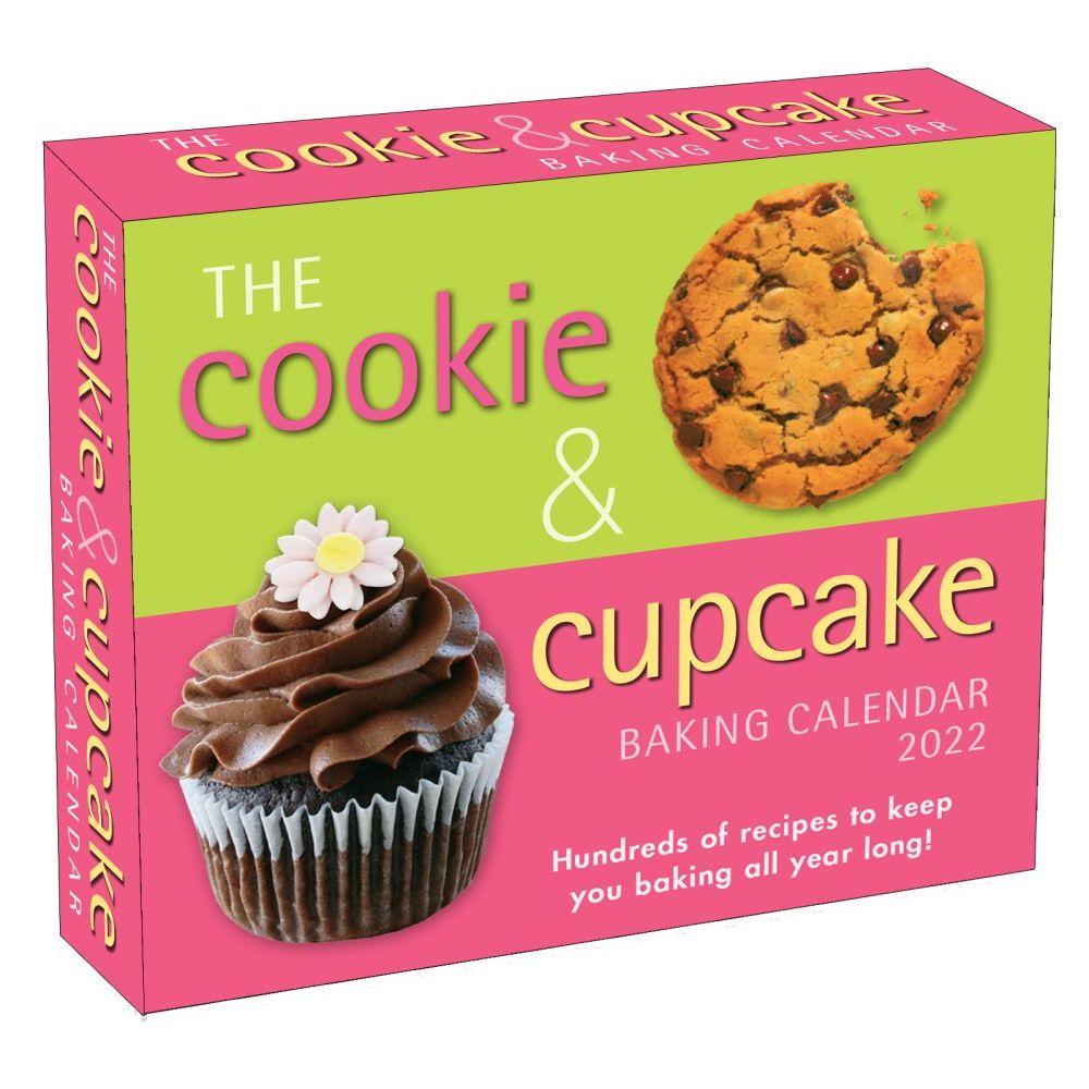 Cookie and Cupcake Baking 2022 Desk Calendar