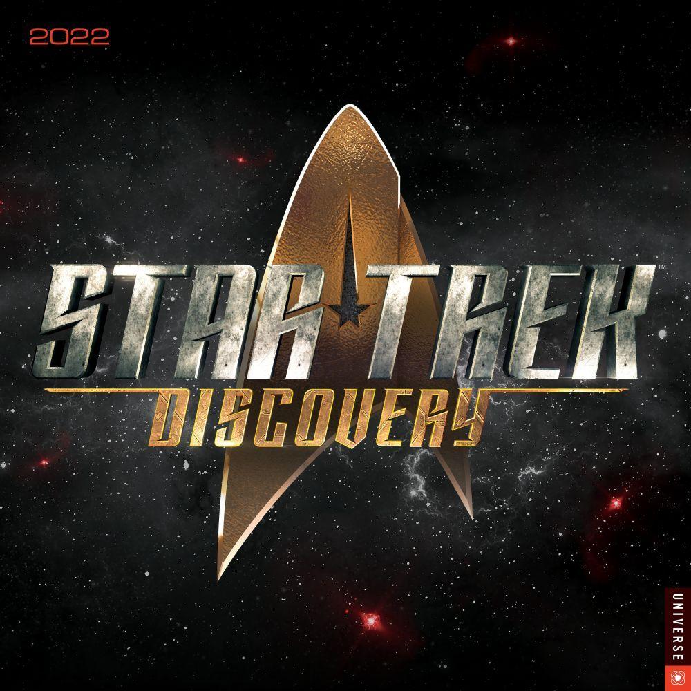 Star Trek Discovery 2022 Wall Calendar