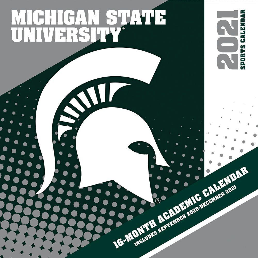 2021 Michigan State Spartans Mini Wall Calendar