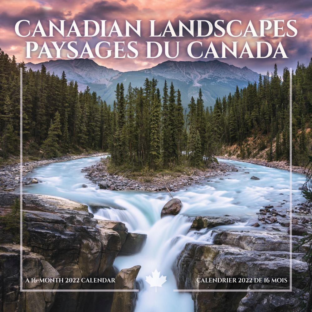 Canadian Landscapes 2022 Wall Calendar