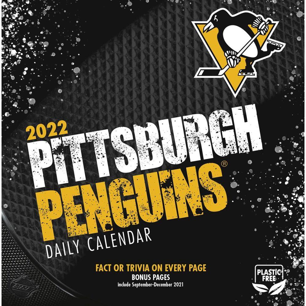 Pittsburgh Penguins 2022 Desk Calendar