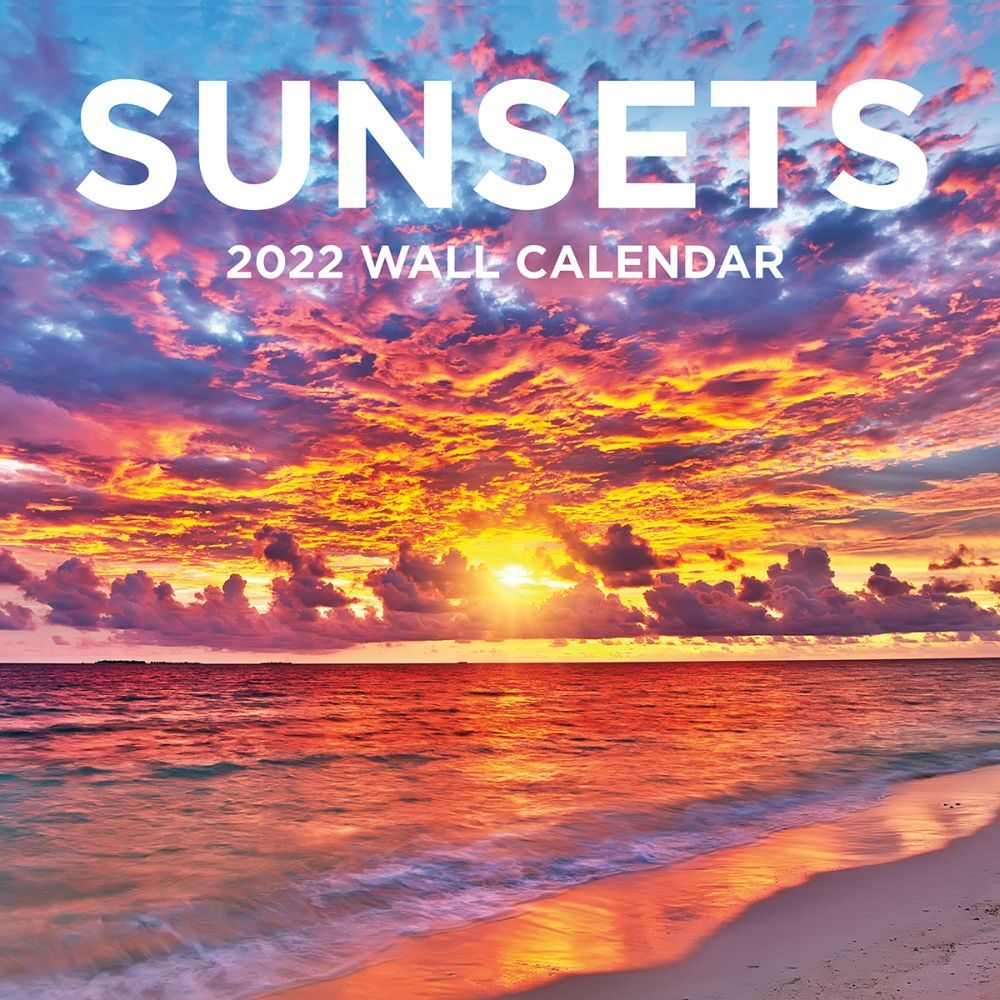 Sunsets 2022 Wall Calendar