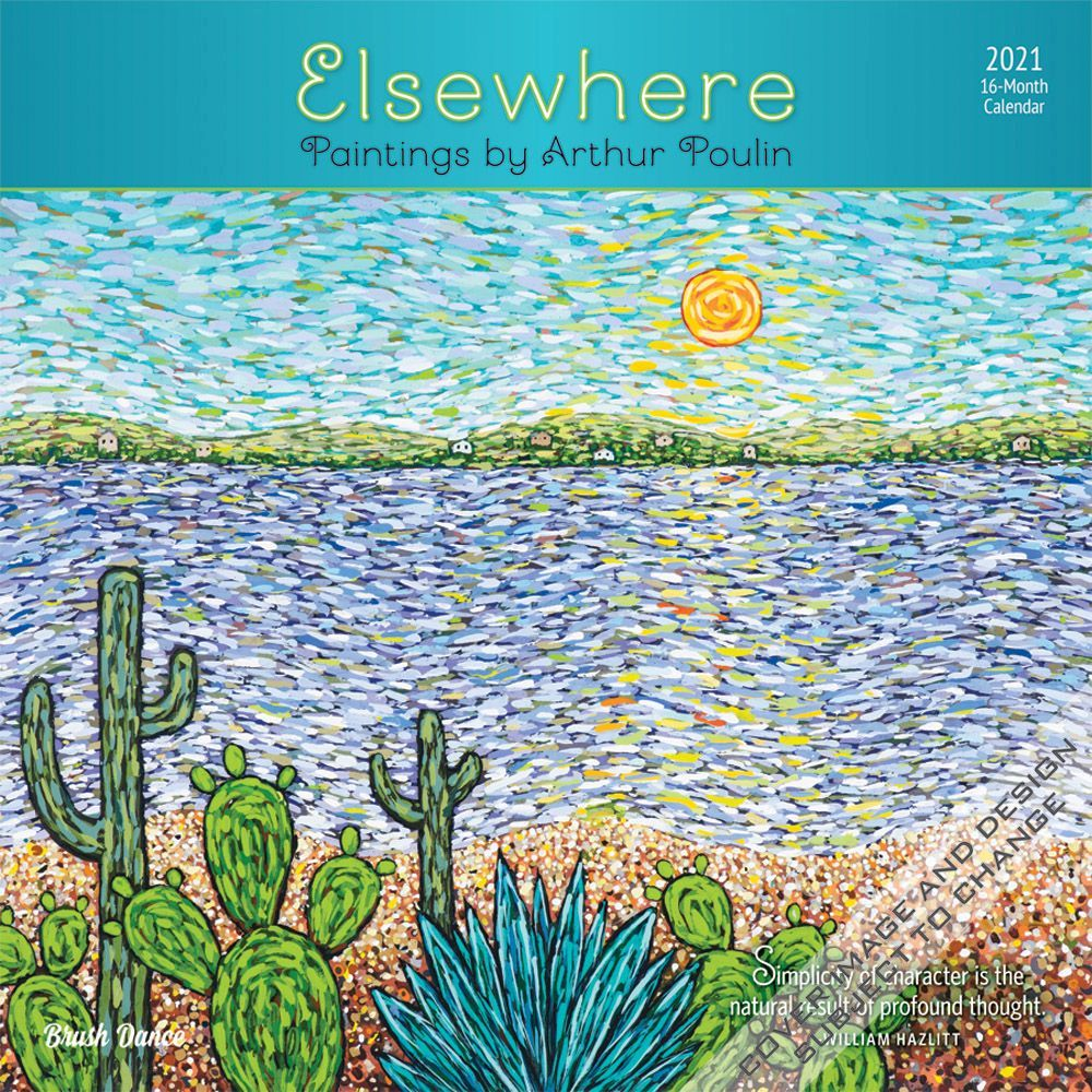 2021 Elsewhere Wall Calendar