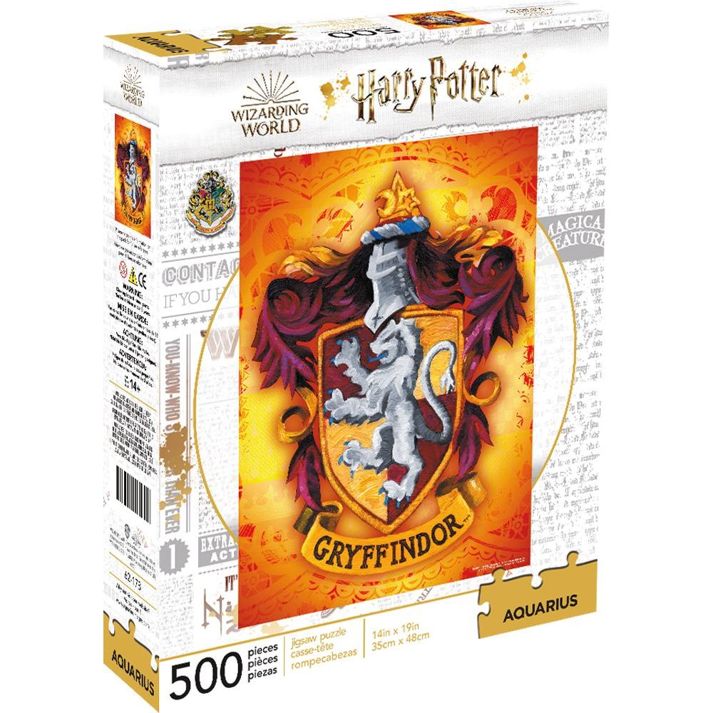 Best Harry Potter Gryffindor 500pc Puzzle You Can Buy
