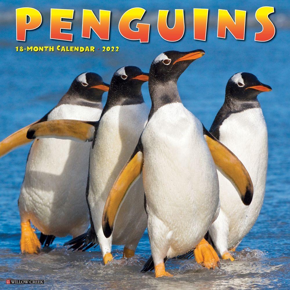 Penguins 2022 Wall Calendar