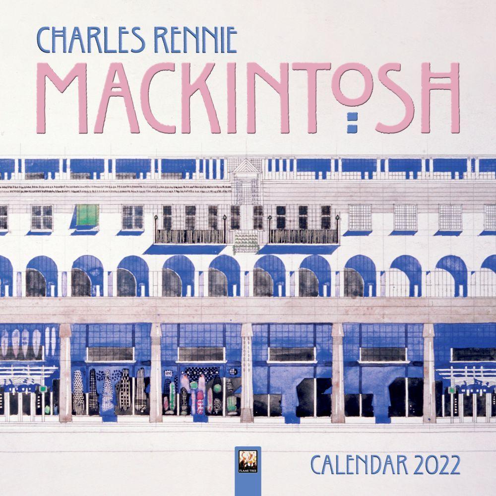 Charles Rennie Mackintosh 2022 Wall Calendar
