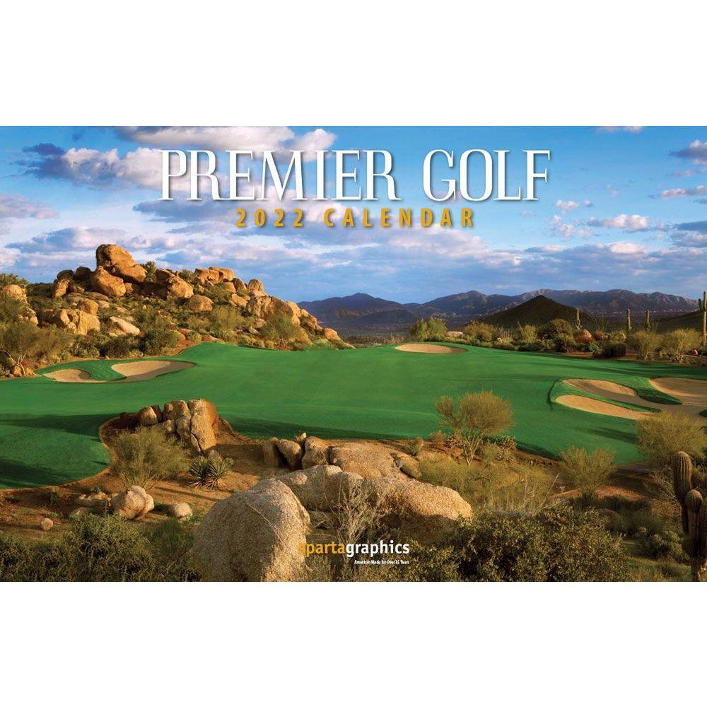 Premiere Golf 2022 Wall Calendar