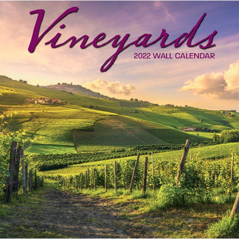 Vineyards 2022 Wall Calendar