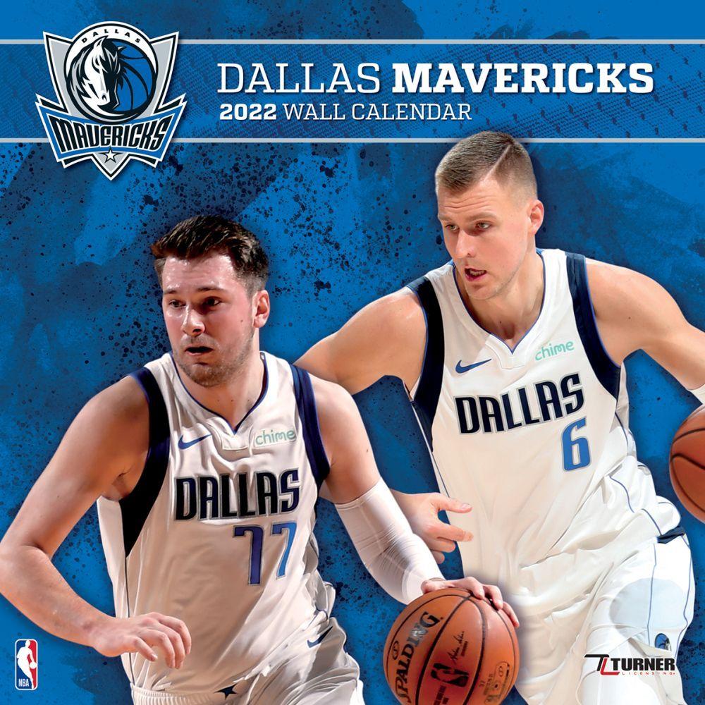 Dallas Mavericks 2022 Wall Calendar