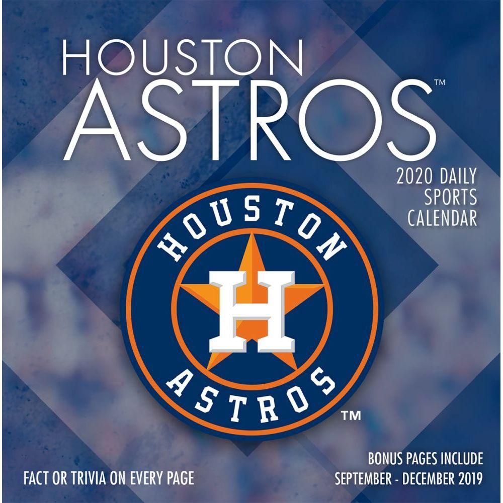 Houston Astros 2021 Wall Calendar