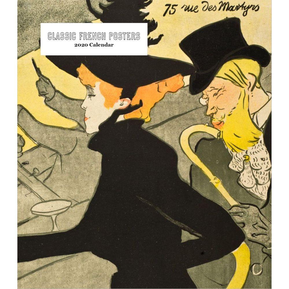Tolouse Lautrec Posters 2021 Easel Calendar