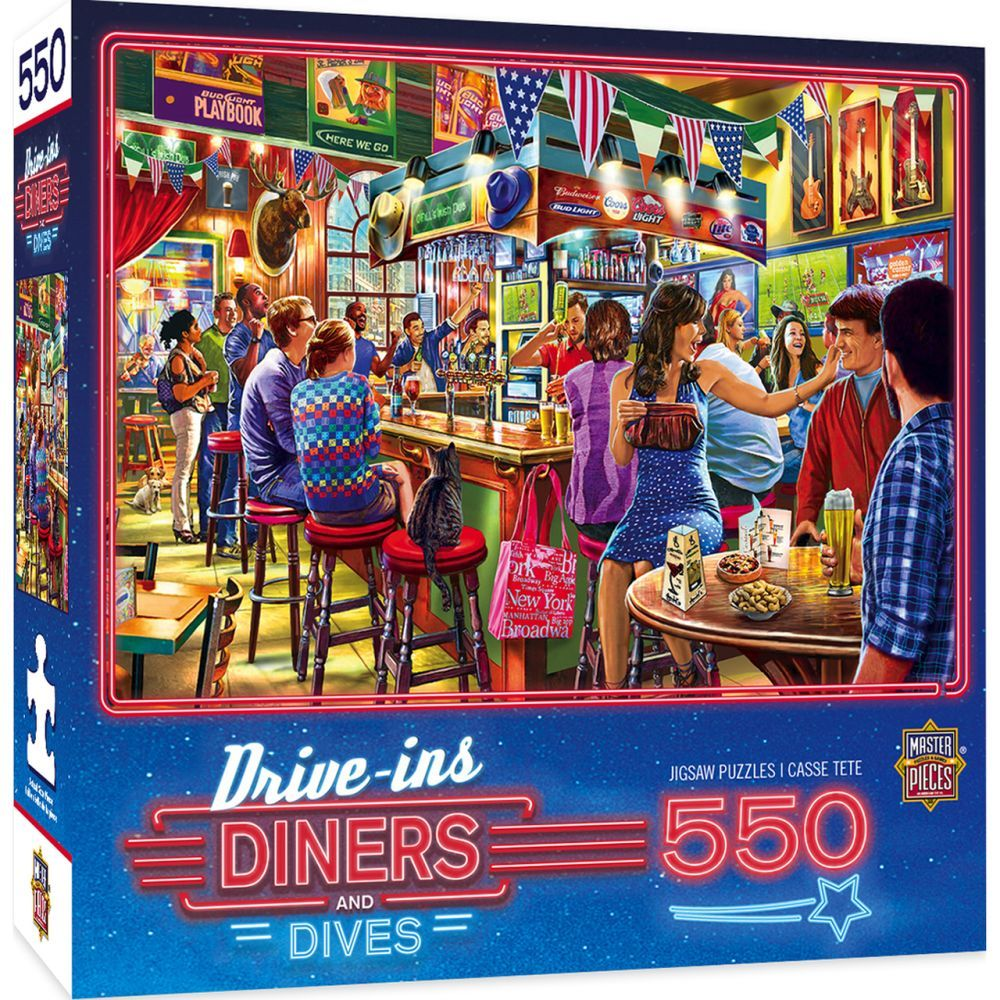 Best Suds 550pc Puzzle You Can Buy