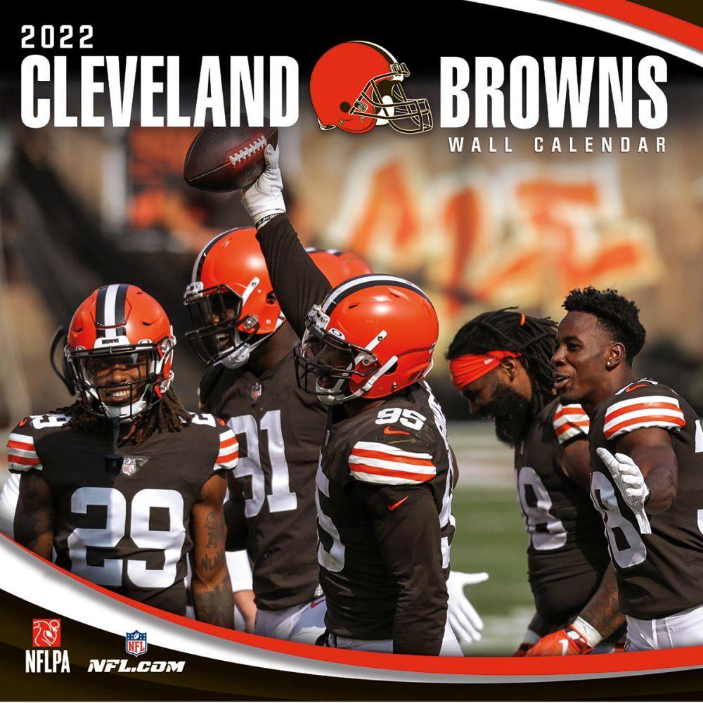 Cleveland Browns 2022 Wall Calendar