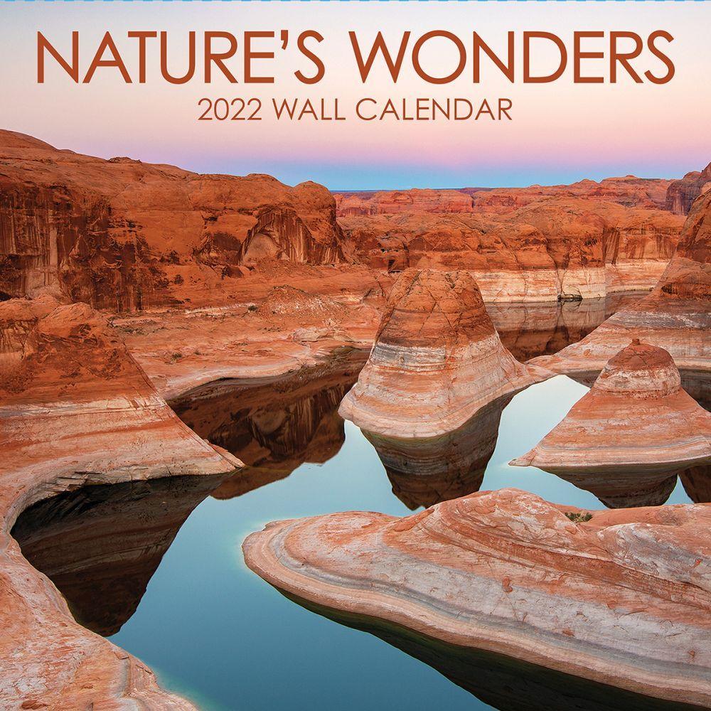 Natures Wonders 2022 Wall Calendar