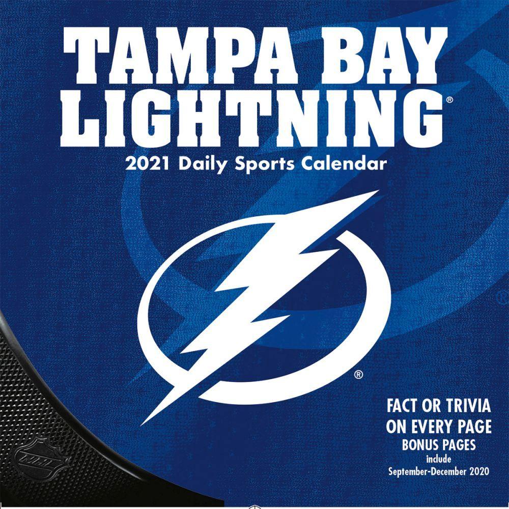 NHL Tampa Bay Lightning 2021 Desk Calendar