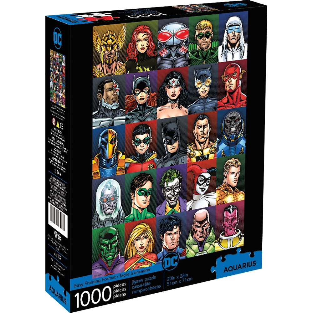 Best Dc Faces 1000pc Puzzle You Can Buy
