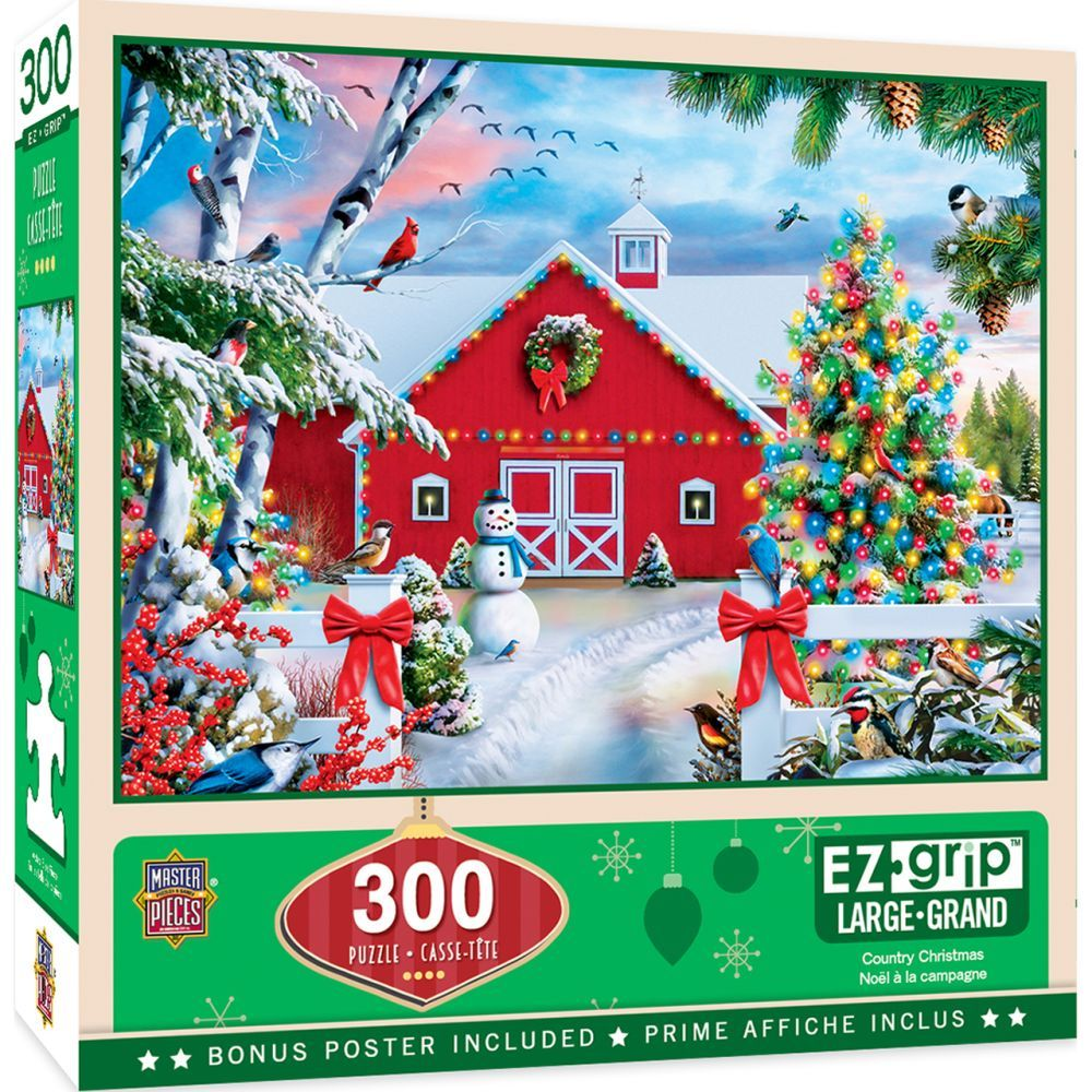 Country Christmas 300pc Puzzle