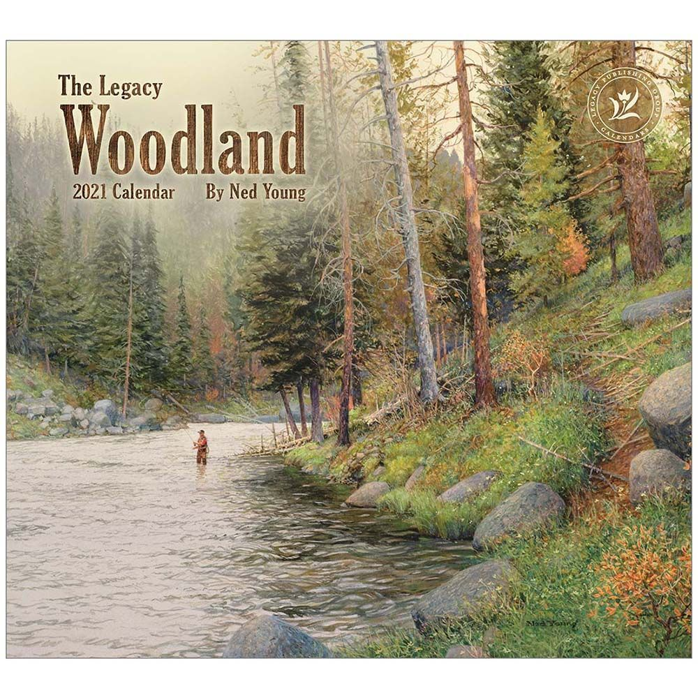 2021 Woodland Young Wall Calendar
