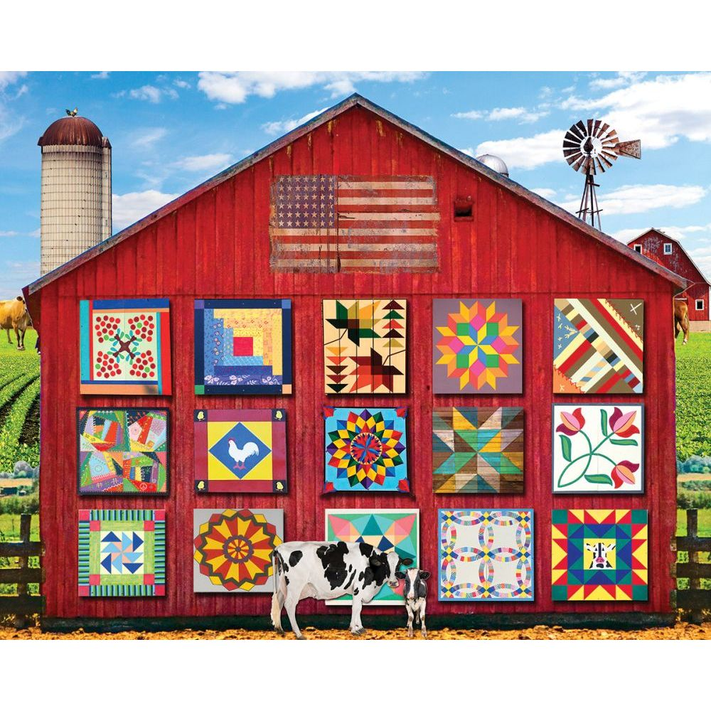 Best Barn Quilts 1000pc Puzzle You Can Buy