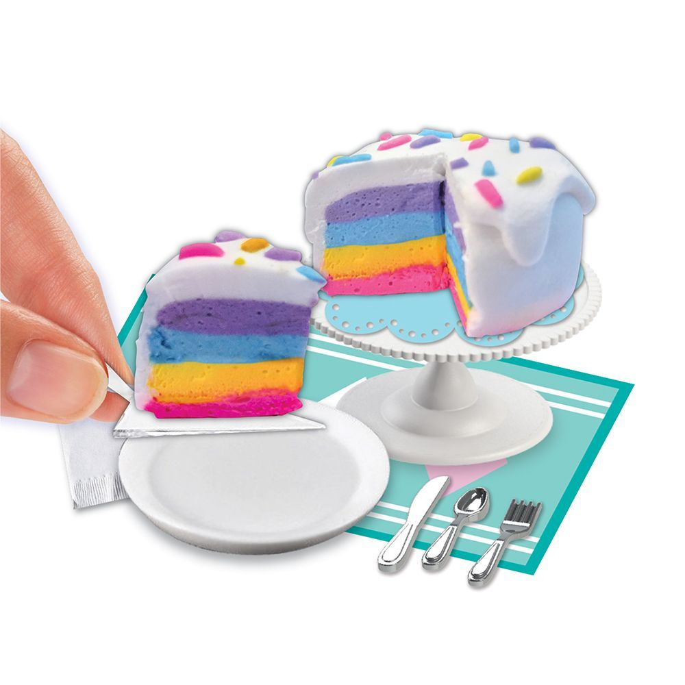 Extra Small Rainbow Cake Mini Clay Kit-3