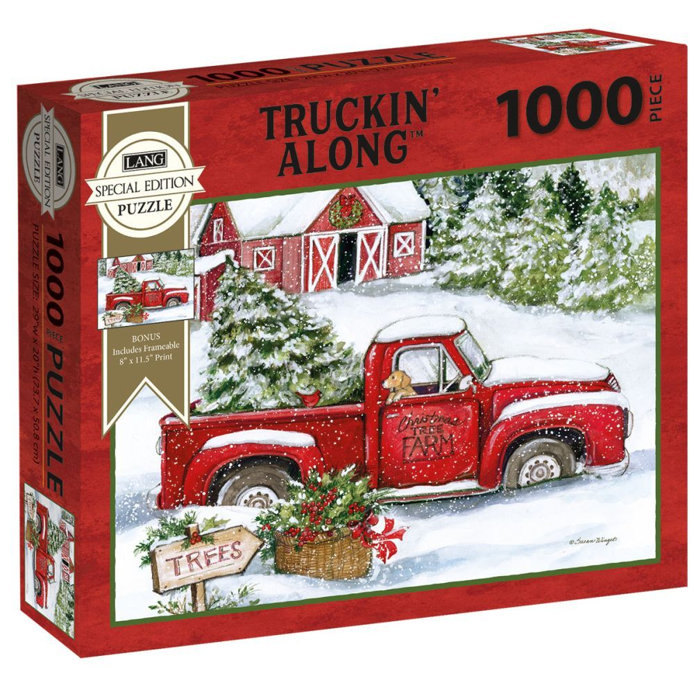 Best Truckin Along Special Edition 1000pc Puzzle You Can Buy