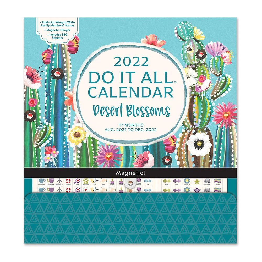 Desert Blossoms Do It All 2022 Wall Calendar