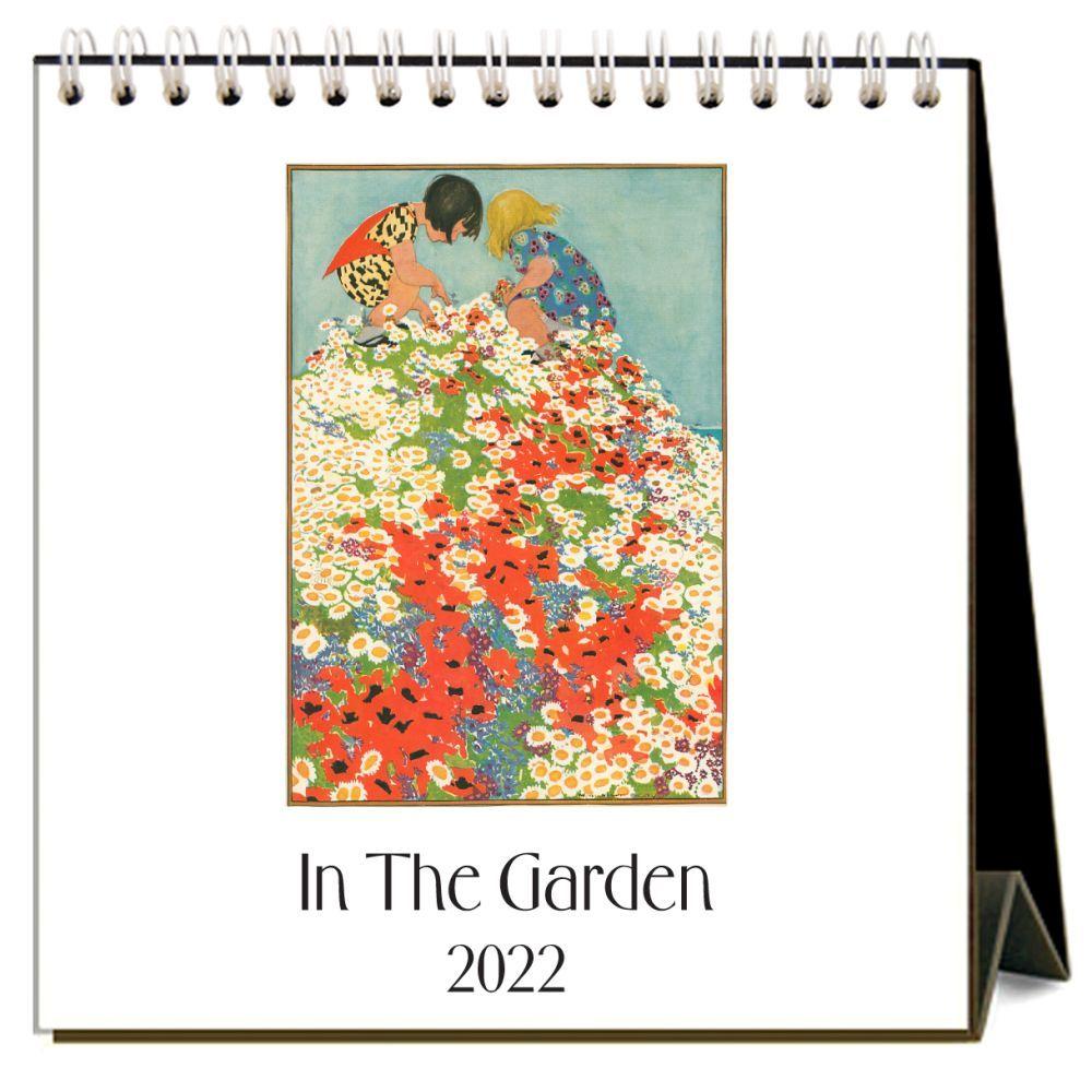 In the Garden 2022 Desk Calendar