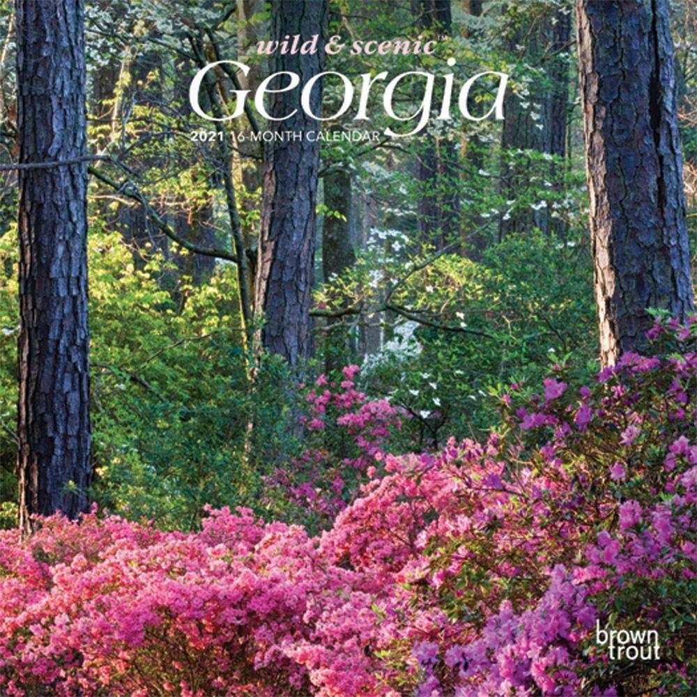 2021 Georgia Mini Wall Calendar