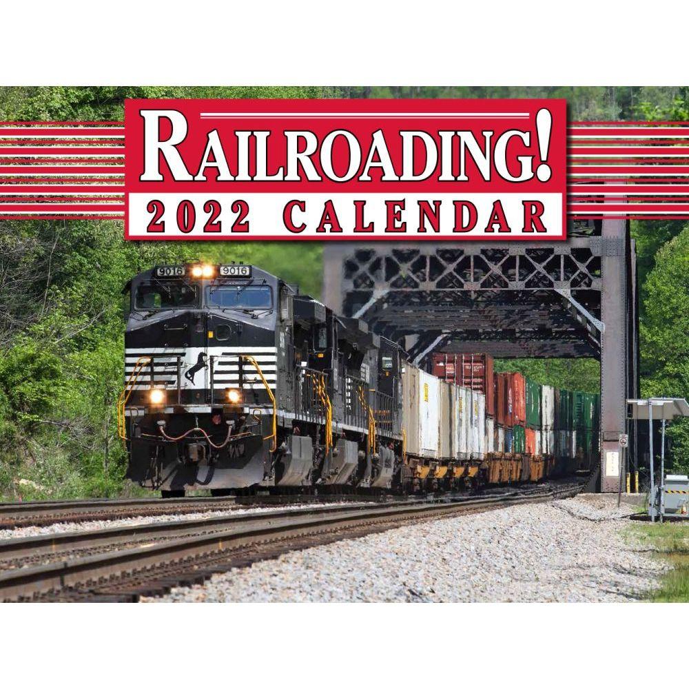 Trains Railroading 2022 Wall Calendar
