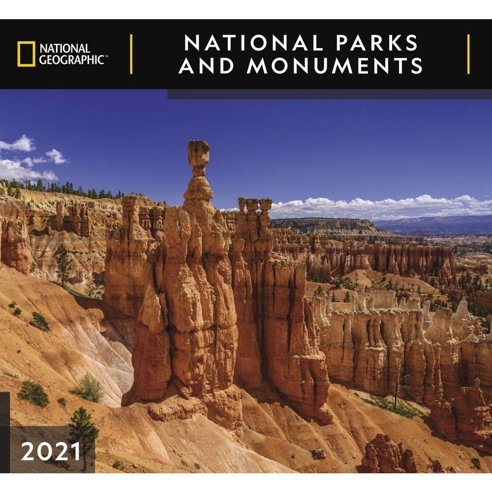2021 National Parks National Geographic Wall Calendar