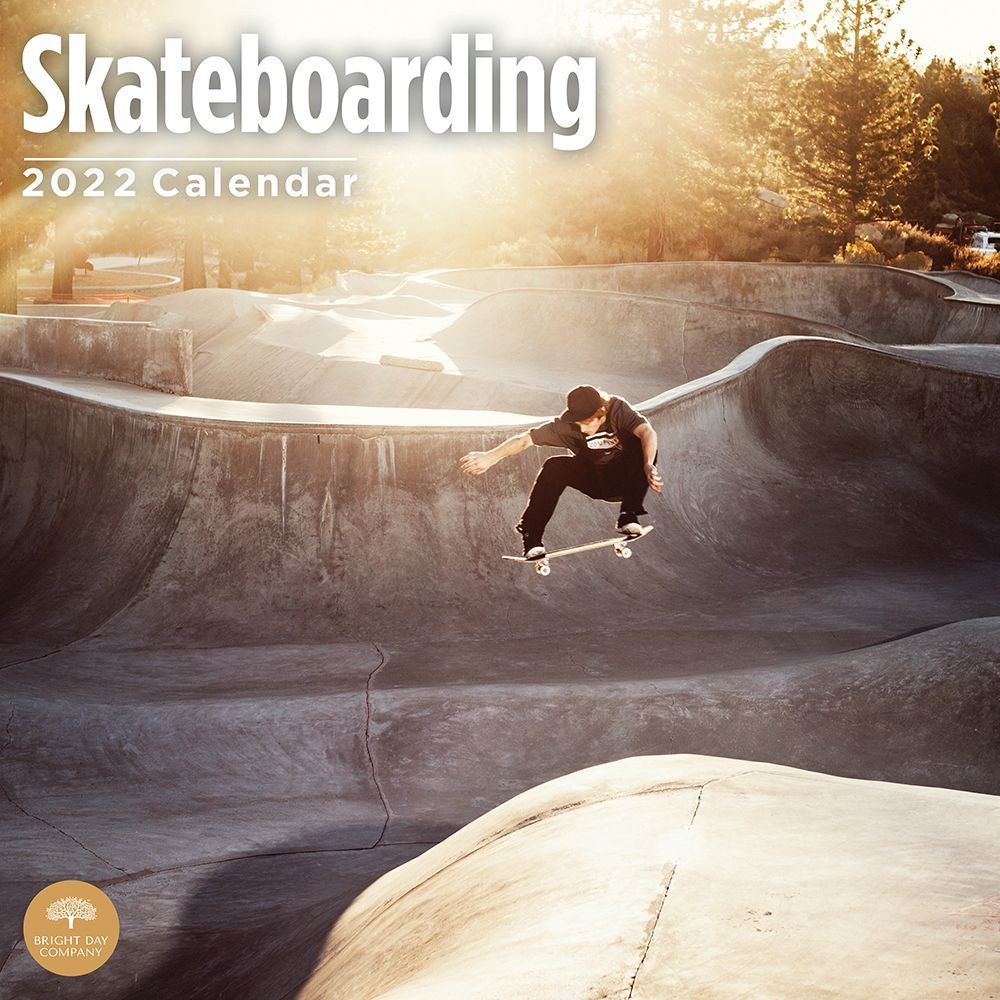 Skateboarding 2022 Wall Calendar