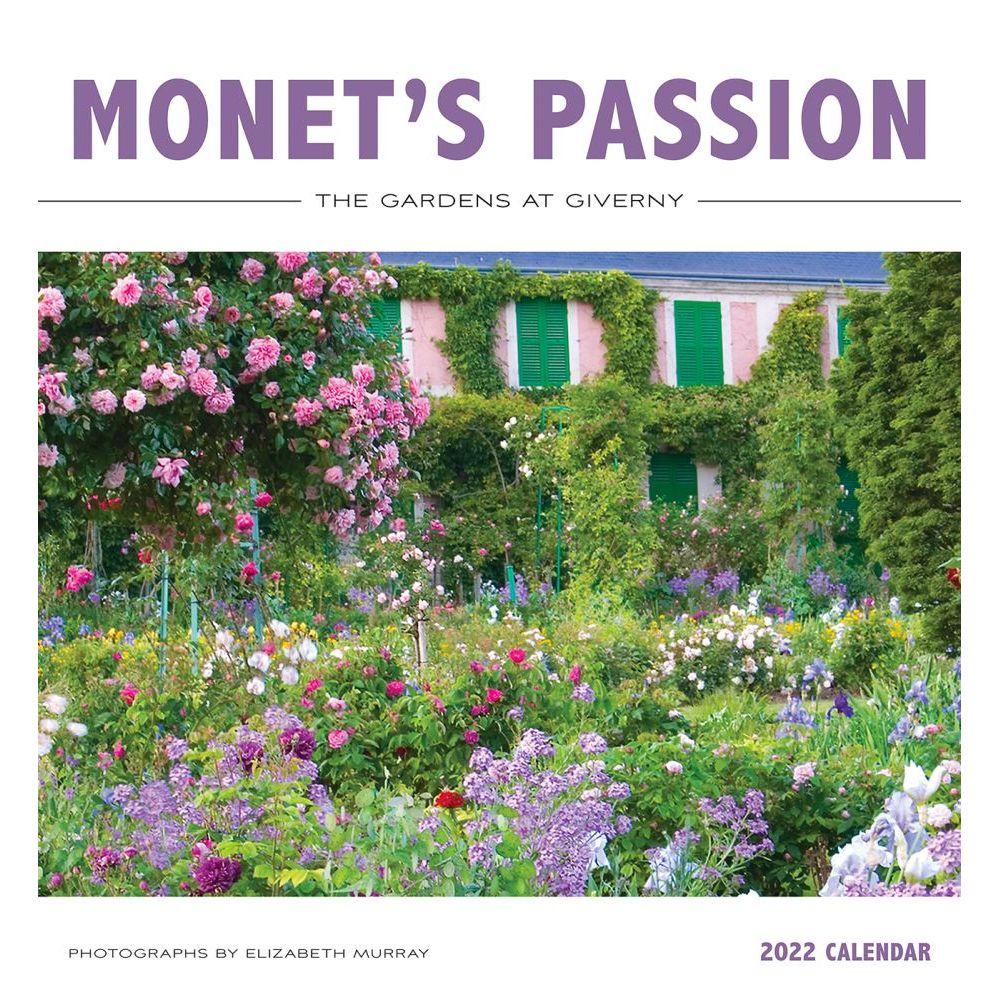 Monet's Passion 2022 Wall Calendar